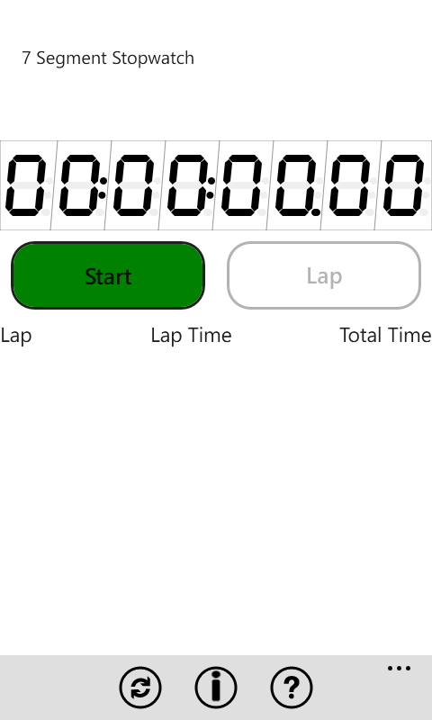 Stopwatch screenshot 3