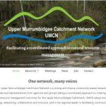 Website development and maintenance for the Upper Murrumbidgee Catchment Network